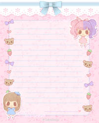 Lolita Stationery by Kaiyakkuma