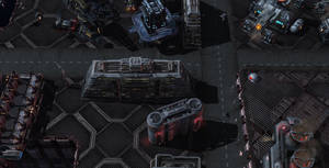 02 space station docks