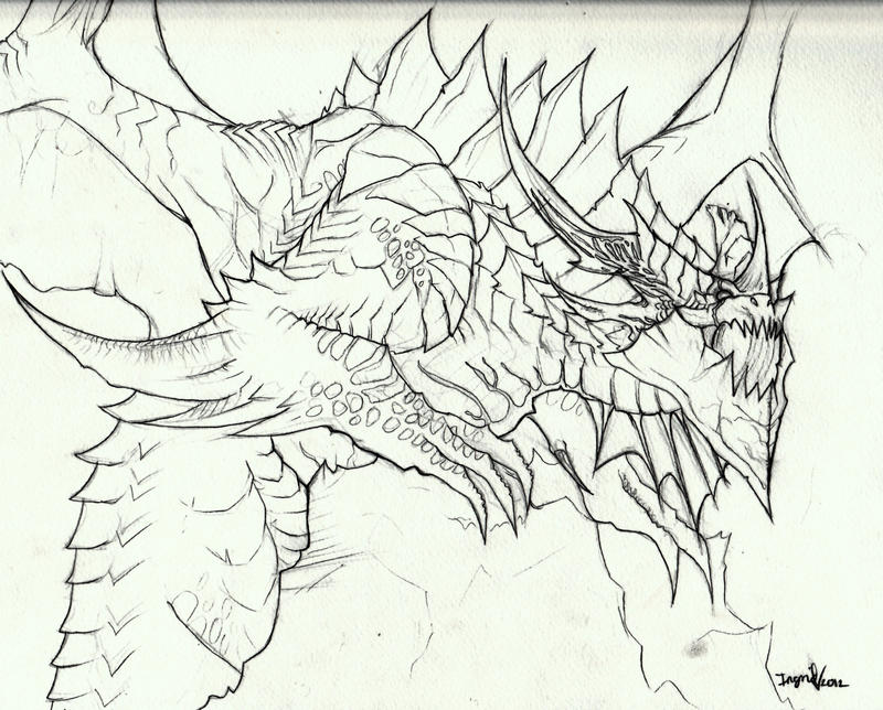 Deathwing Coloring Pages Coloring Pages