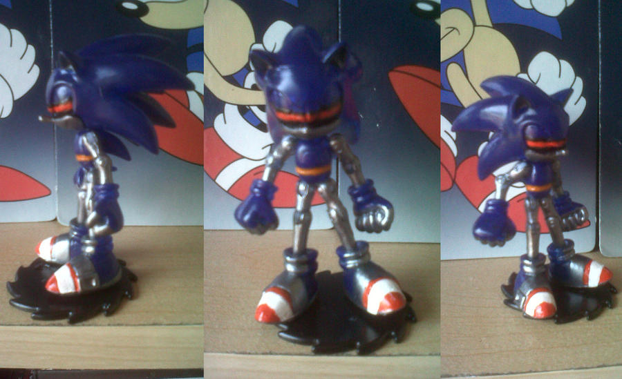 Custom Mecha Sonic -Complete by Diegichigo