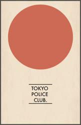 Tokyo Police Club poster v1