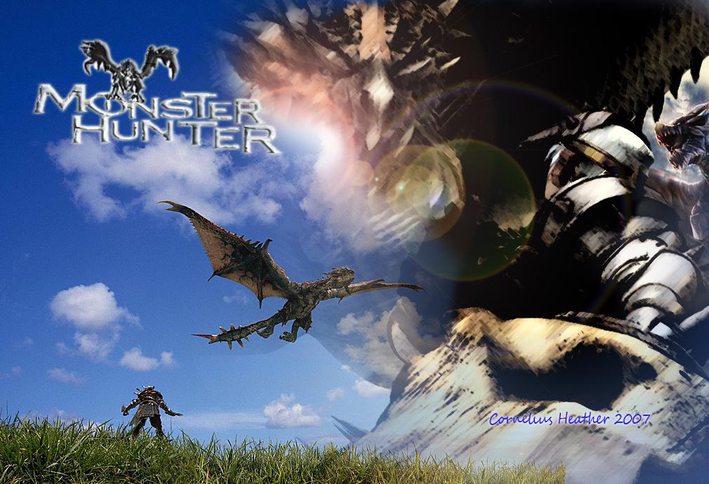 monster hunter wallpaper by corneliusheather on deviantart