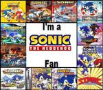 I'm a Sonic Fan