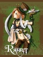rabbit by yaminolady