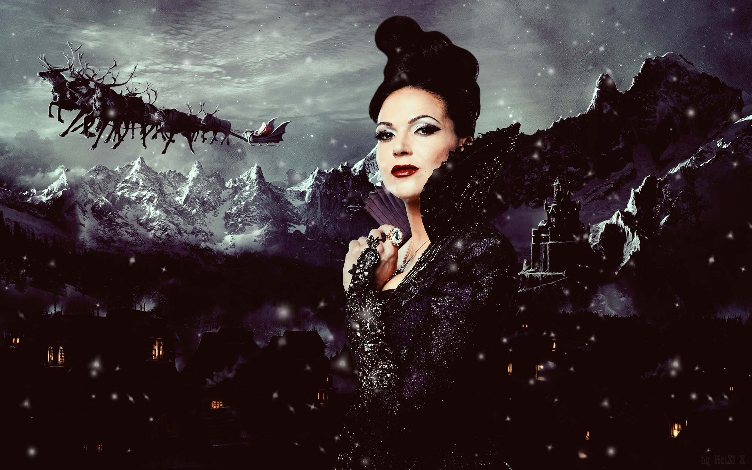 ... Regina Mills by KeiSi-X