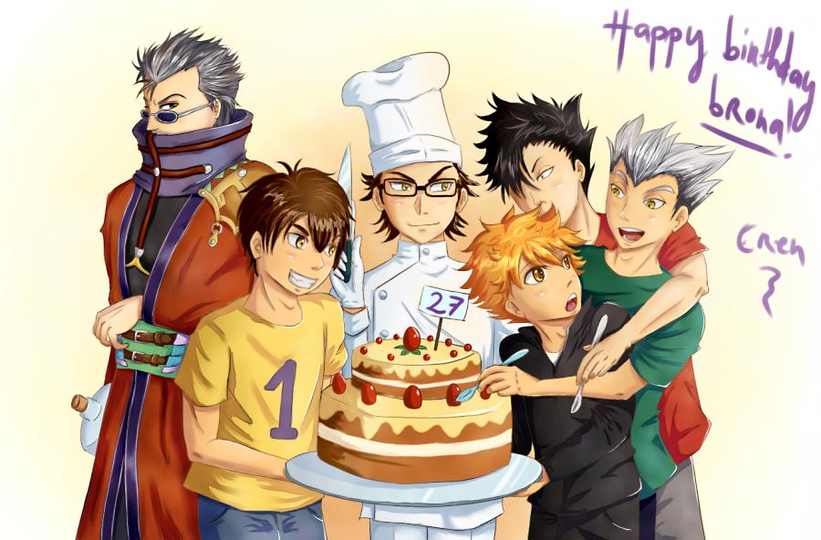 Happy birthday brona! by Erendyce