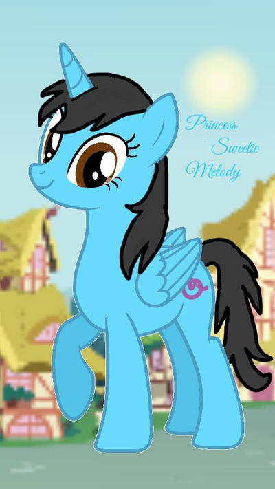 Princess Sweetie Melody by nalaaashy