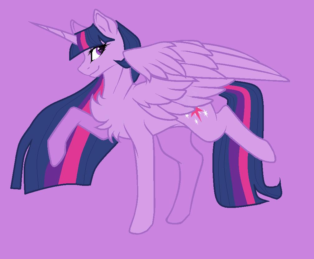Twilicorn (Fanart Version) by nalaaashy