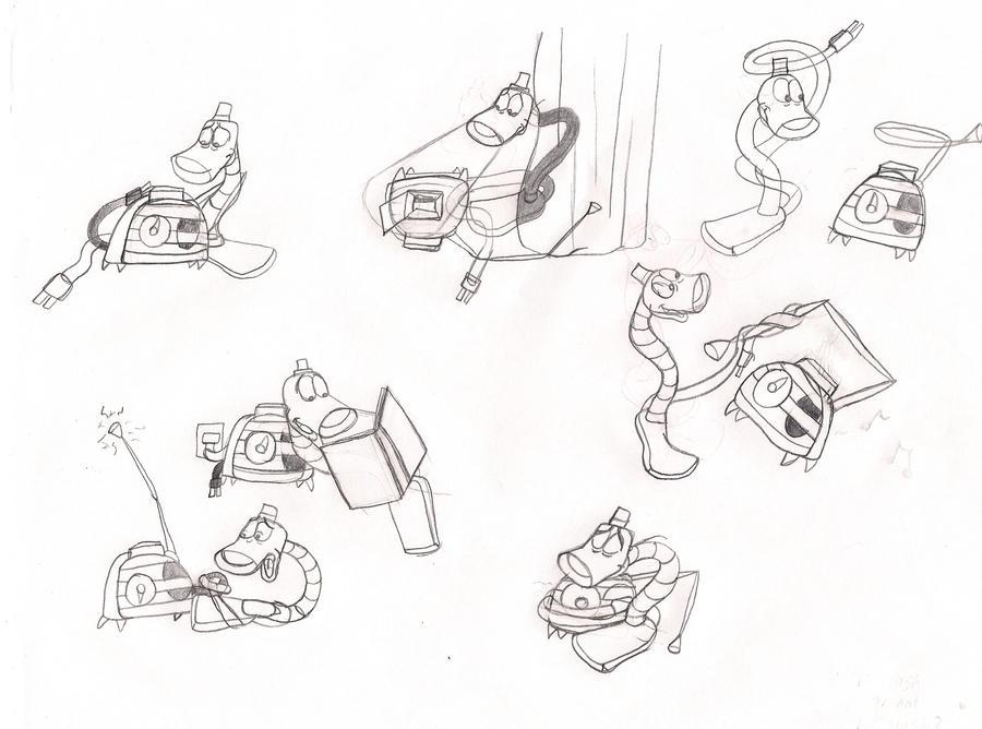 Blt Sketches 5 By Bat Snake On Deviantart