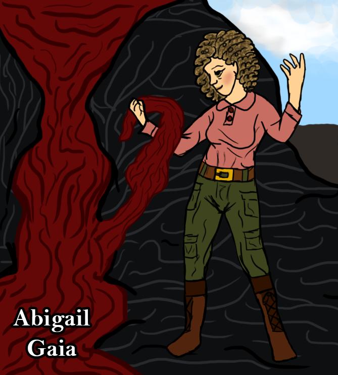 Skullduggery Pleasant OC - Abigail Gaia by Bat-Snake