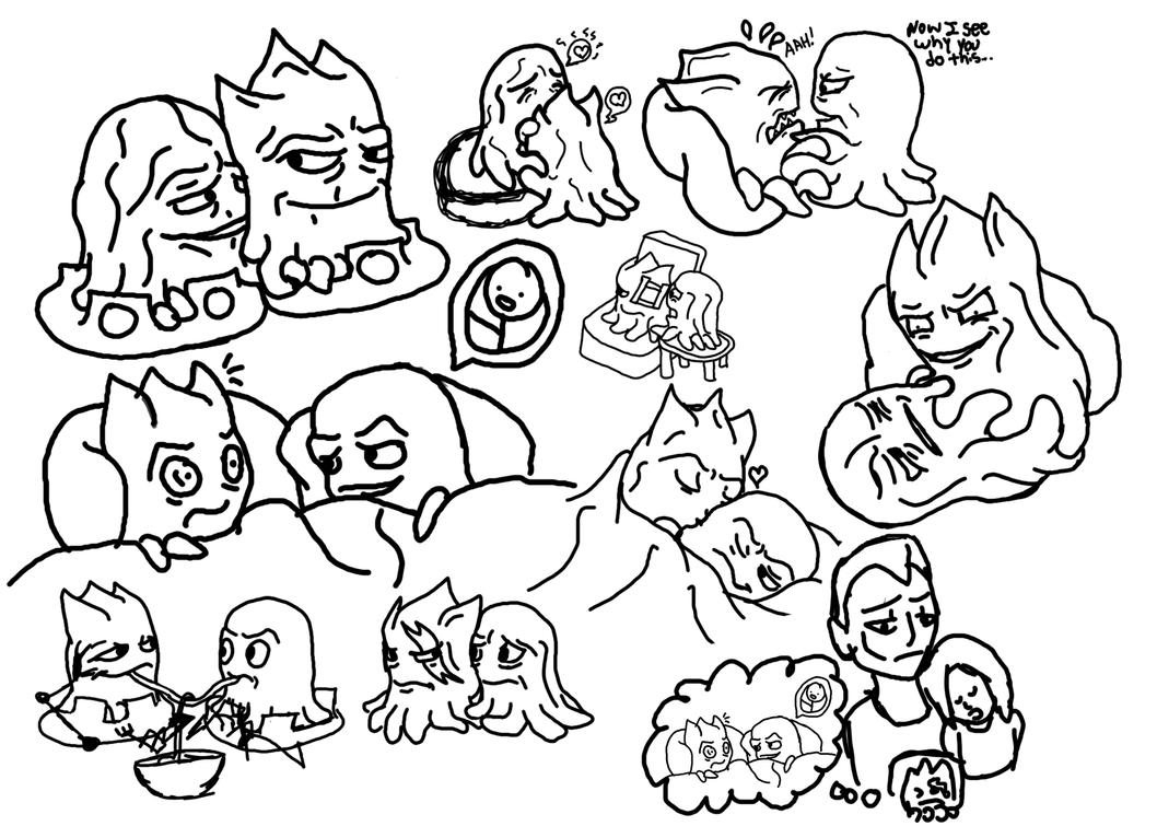 Ch'rtu sketches by Bat-Snake