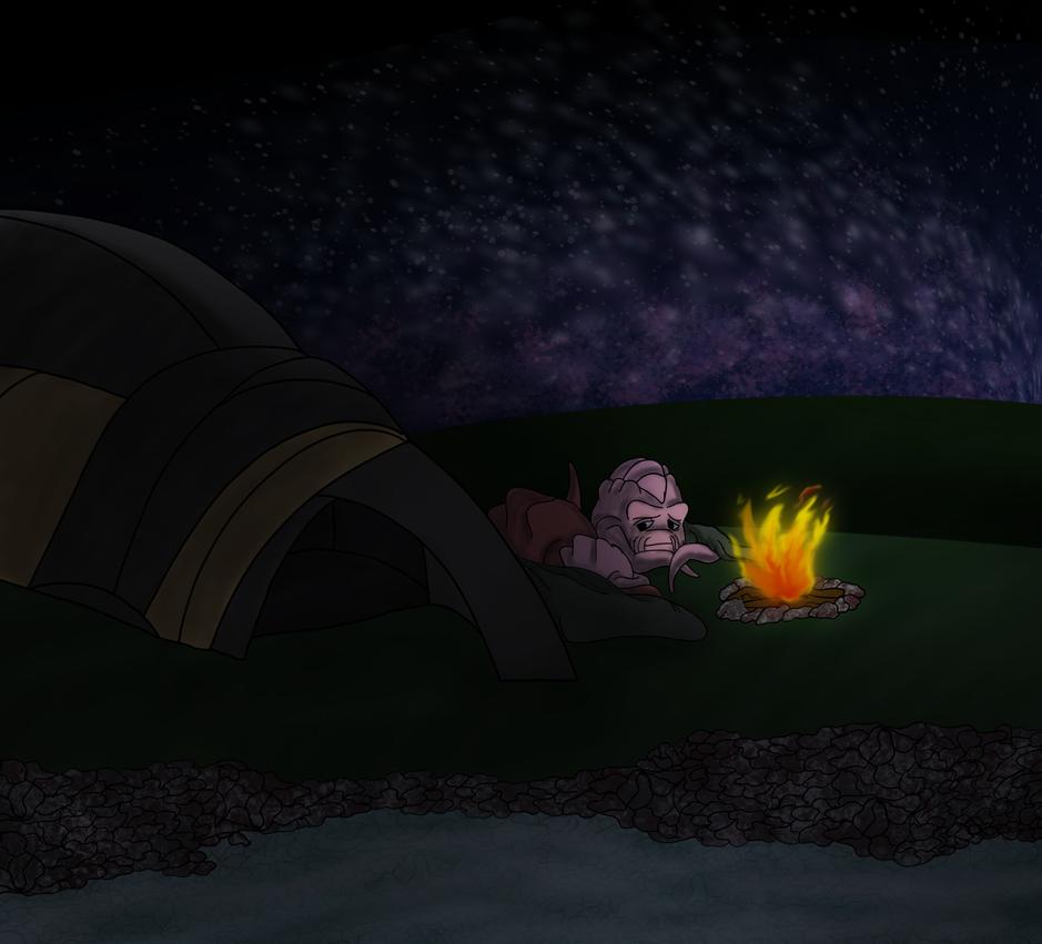 Stargazing by Bat-Snake