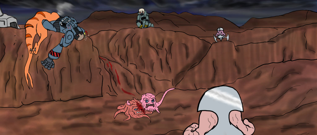 Battlefield by Bat-Snake