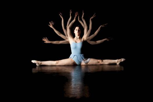 Stroboscopic Ballet Dancer I