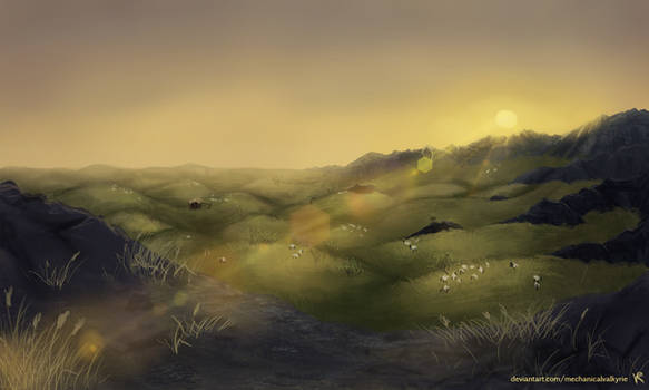 Hills of Gold
