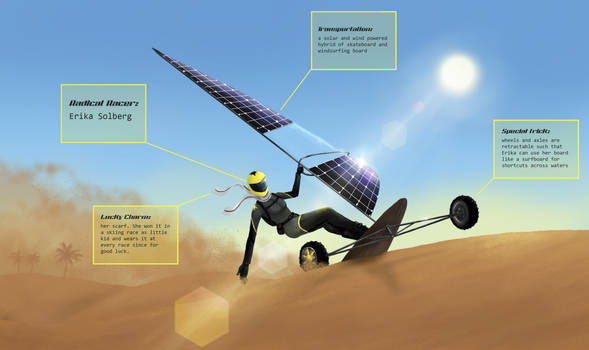 SolarSurfer (Radical Racer contest entry)