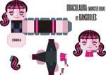 Monster High: Draculaura PaperToy
