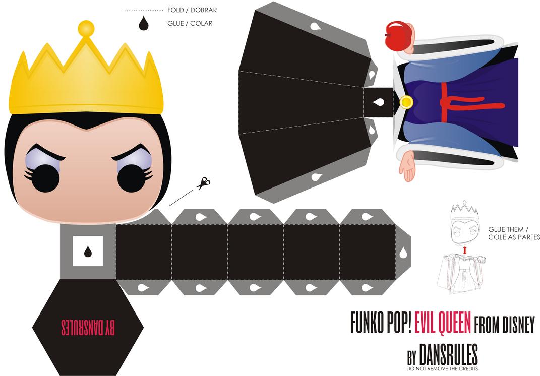 Funko Pop! Evil Queen Disney by Dansrules by dansrules