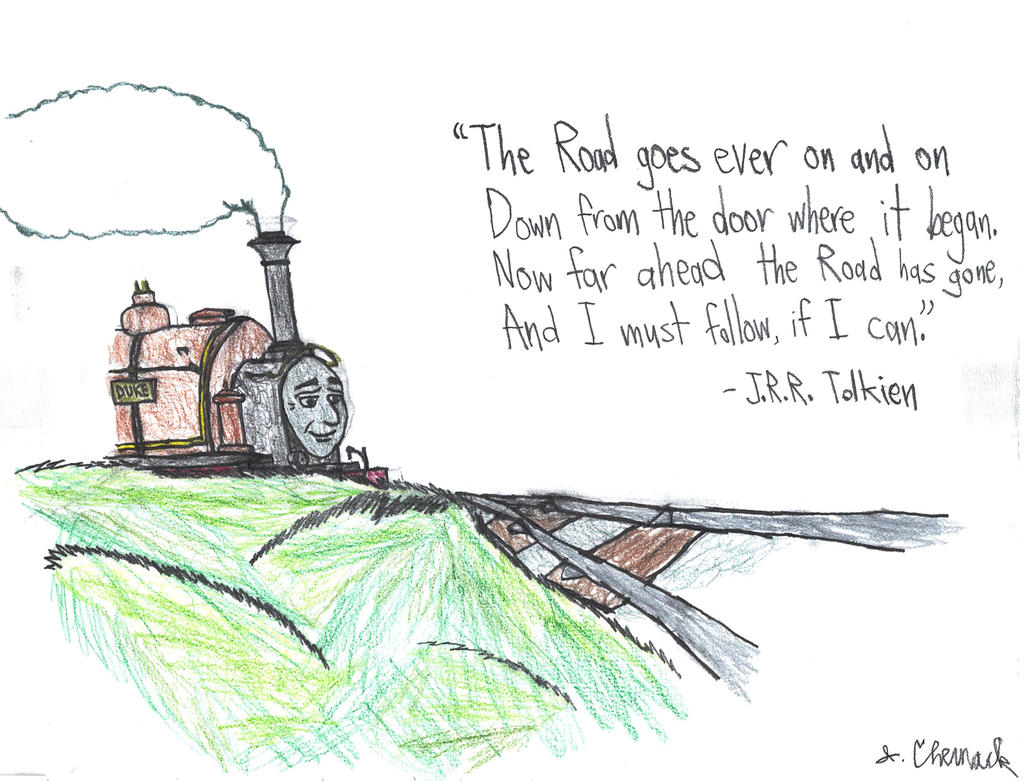 The Rails Go Ever On
