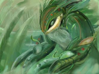 The Great Swamp Skink by Akaraah