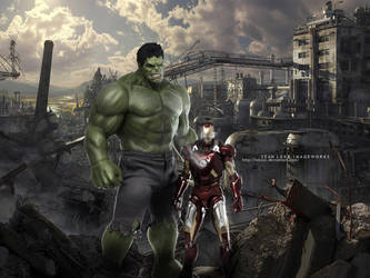 THE COLLATERAL AVENGERS by lokesc