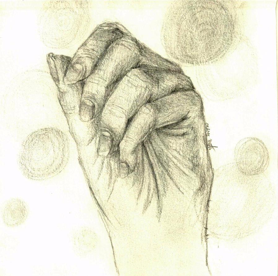 Hand Sketch 2 by okamimichaelis5353