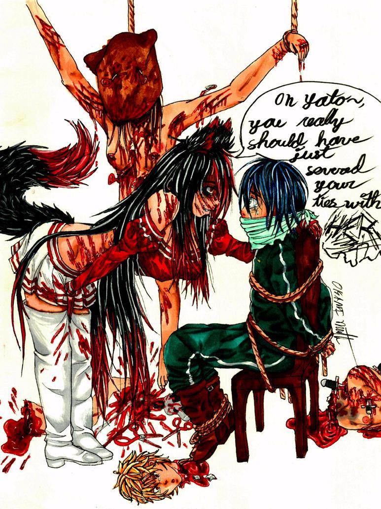 Oh Yato.. by okamimichaelis5353