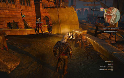 The Witcher 3: Set sail for glitch. by RustyRaccoon
