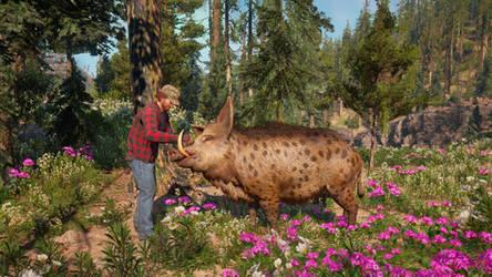 Far Cry New Dawn: Horatio is a good boy :). by RustyRaccoon