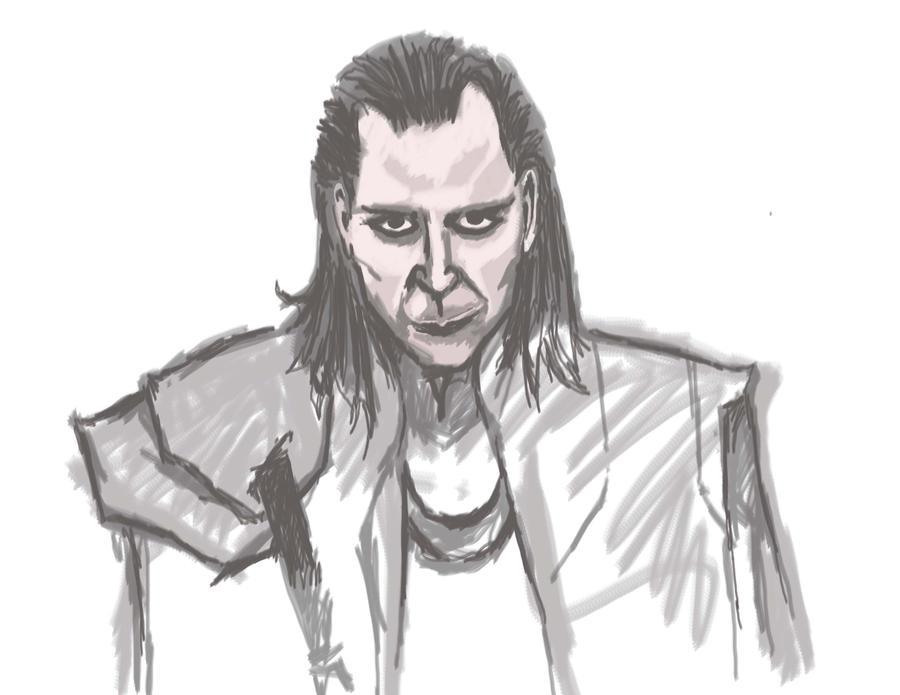 Loki W.I.P by Nicturax