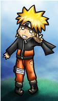 Naruto Chibi Coloured by Ironcid