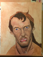First oil painting progress again!  by dr-fil
