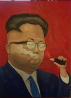 Kim Jong Fun progress by dr-fil