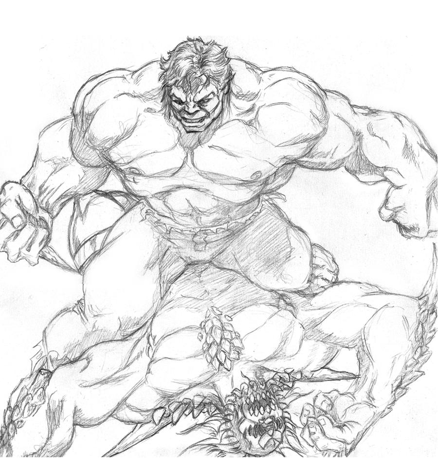 Hulk vs. Doomsday by Pencil-Pusher1 on DeviantArt