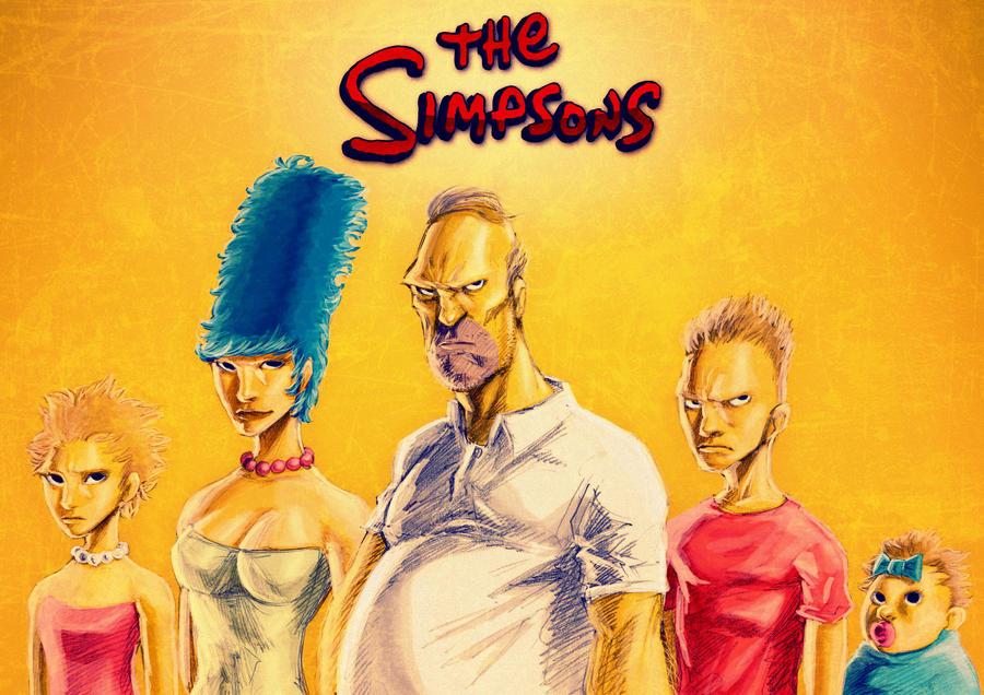 The Simpsons by HikaruTajima1989