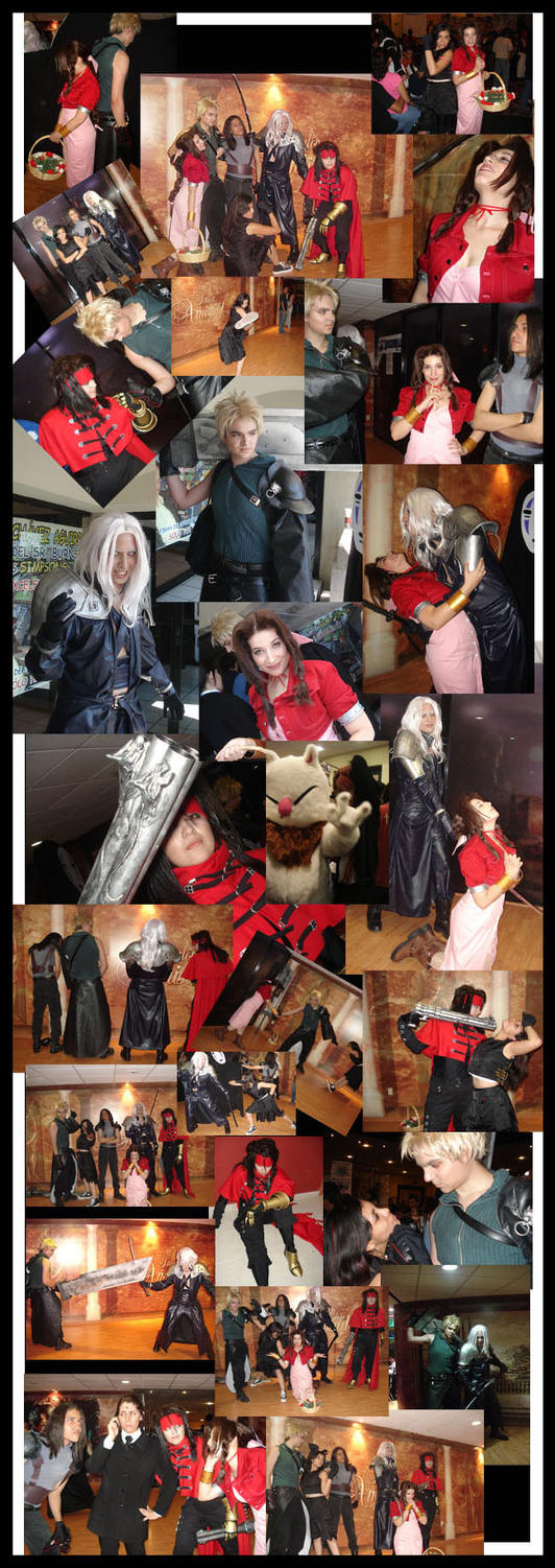 FFVII Cosplay Collage by Kaysa