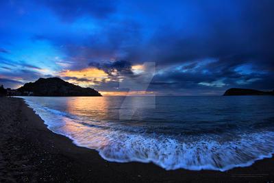 Romaeikos beach sunset MRM7 image by LemnosExplorer