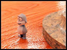 Little monkey by steve0