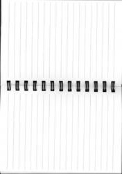 Open Notebook Stock by LacedxRoses
