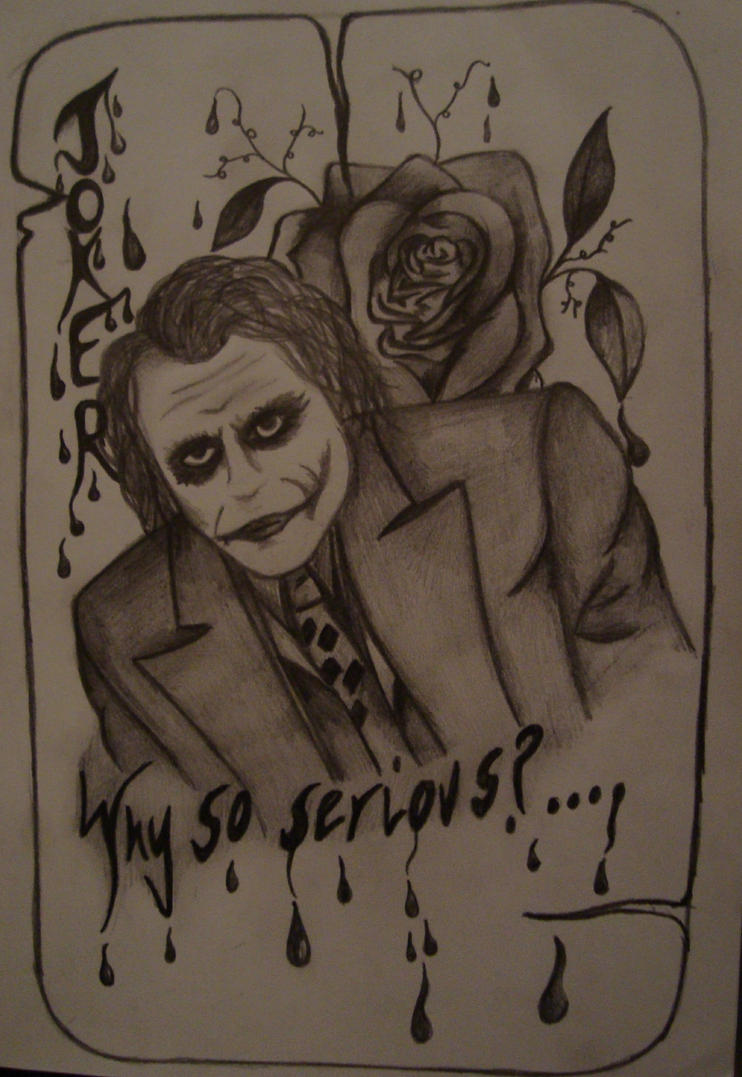 why so serious hahahahaha by bearpaws3 on deviantart. Black Bedroom Furniture Sets. Home Design Ideas