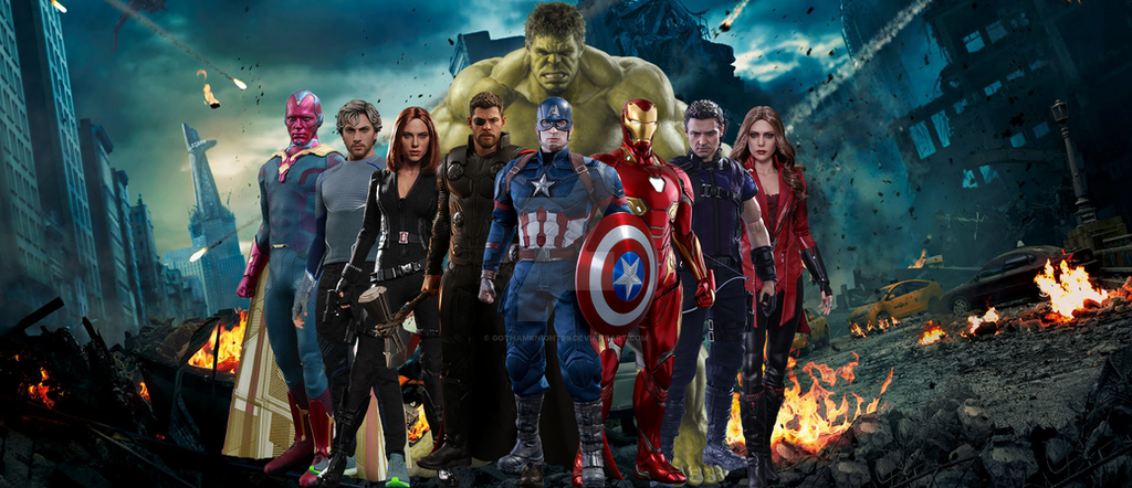 Avengers Age Of Ultron By Iloegbunam On Deviantart: Avengers Age Of Ultron By GOTHAMKNIGHT99 On DeviantArt