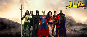 Justice league through the ages: JLA Classified