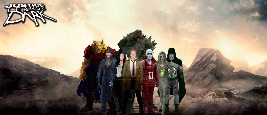 3. Justice League Dark by GOTHAMKNIGHT99