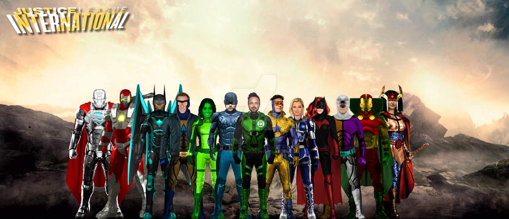 5. Justice League International by GOTHAMKNIGHT99