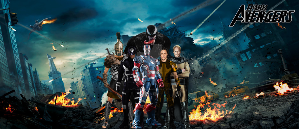 6. Dark Avengers by GOTHAMKNIGHT99