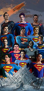 Superman Stylistic poster