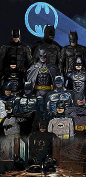 Batman stylistic poster