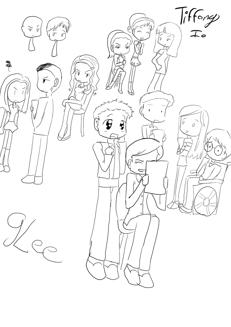 glee coloring pages - glee free coloring pages