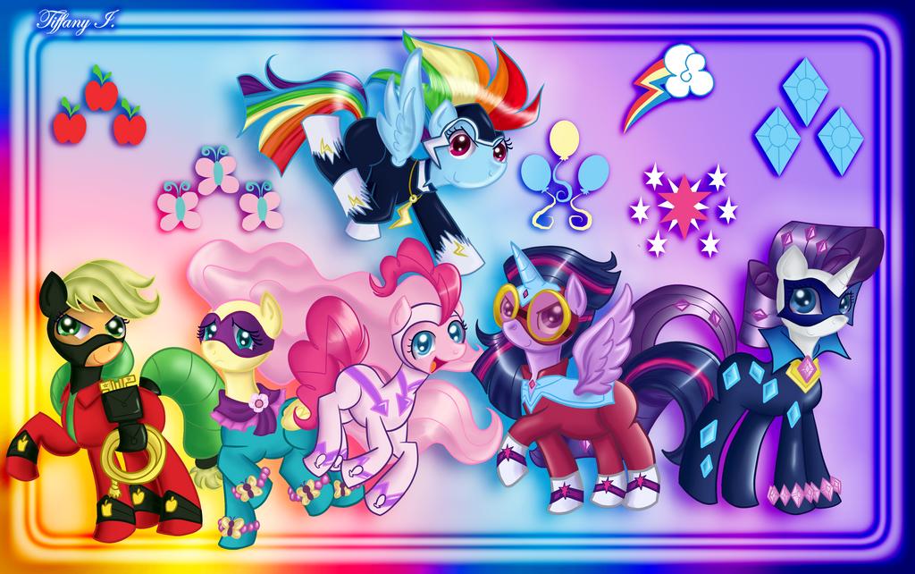 MLP - Power Ponies by iTiffanyBlue on DeviantArt