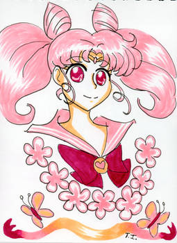 Sailor Chibi Moon - May Copic Colors Challenge